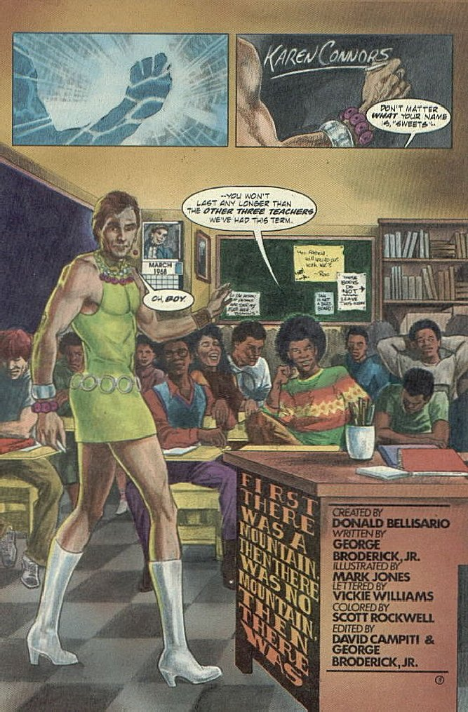 als place quantum leap comic section first there was a