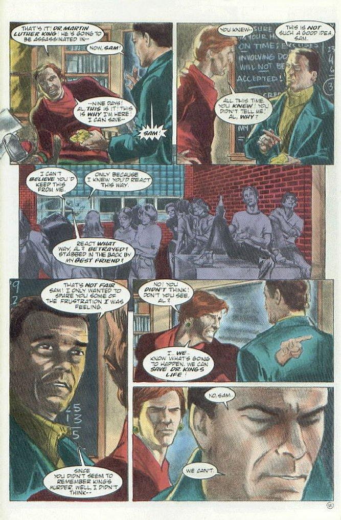 Al S Place Quantum Leap Comic Section Special Edition